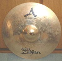 "Zildjan A CUSTOM 16"" CRASH"