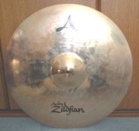 "Zildjan A CUSTOM 20"" PING RIDE"